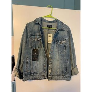 Lucky brand trucker jean jacket